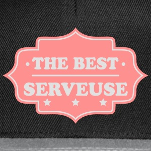 The best serveuse T-Shirts - Snapback Cap
