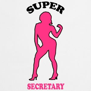 Super secretary T-Shirts - Cooking Apron
