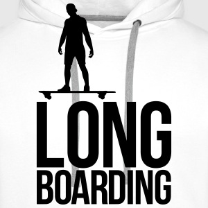 long boarding T-Shirts - Men's Premium Hoodie