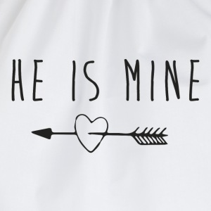 He is mine Tee shirts - Sac de sport léger
