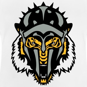 gladiator helm tiger wildes tier T-Shirts - Baby T-Shirt