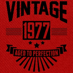 VINTAGE 1977 - Aged To Perfection T-Shirts - Snapback Cap