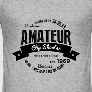 Amateur Clip Shooter Pullover & Hoodies - Männer Slim Fit T-Shirt
