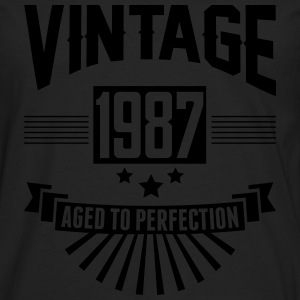 VINTAGE 1987 - Aged To Perfection T-Shirts - Men's Premium Longsleeve Shirt