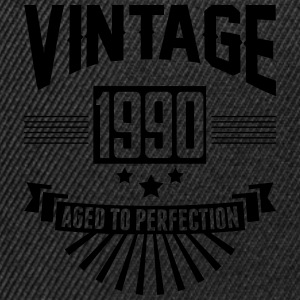 VINTAGE 1990 - Aged To Perfection T-Shirts - Snapback Cap