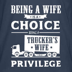 Trucker's wife Hoodies & Sweatshirts - Men's Premium Longsleeve Shirt