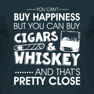 Cigars & whiskey  Hoodies & Sweatshirts - Men's T-Shirt