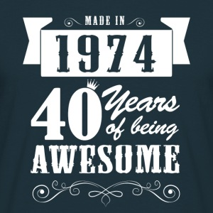 Made in 1974 Hoodies & Sweatshirts - Men's T-Shirt