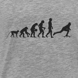 Evolution Skate Tops - Mannen Premium T-shirt