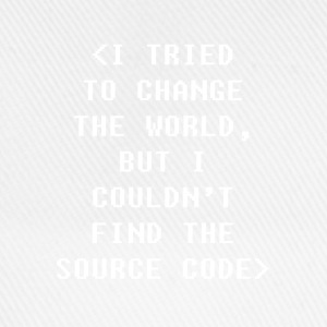 I Couldnt Find The Source Code Programmers T-shirt T-Shirts - Baseball Cap