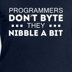 Programmers don't bite Coding T-shirt Tops - Men's Sweatshirt by Stanley & Stella