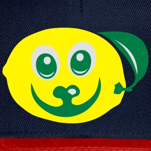 smiley obst zitrone 611 Langarmshirts - Snapback Cap