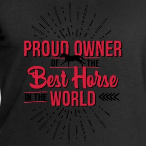 Owner of the world's best horse T-Shirts - Men's Sweatshirt by Stanley & Stella