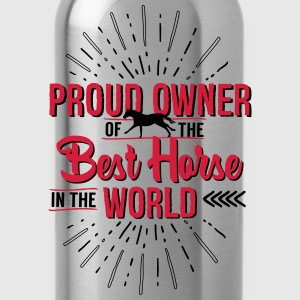 Owner of the world's best horse T-Shirts - Water Bottle