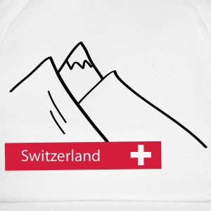 Switzerland Mountains - Schweiz Berge - Swiss - Baseball Cap