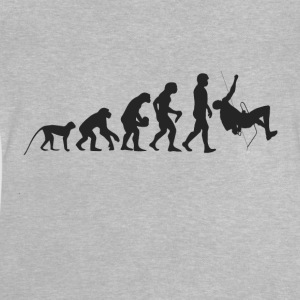 Evolution of climbing Shirts - Baby T-Shirt
