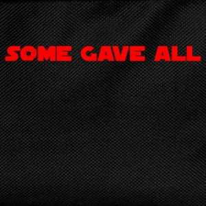 Some Gave All 01 T-Shirts - Kids' Backpack