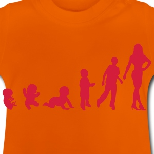 evolution fitness bodybuilding T-Shirts - Baby T-Shirt