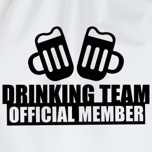 Drinking team crew official member - Best Friends - Drawstring Bag
