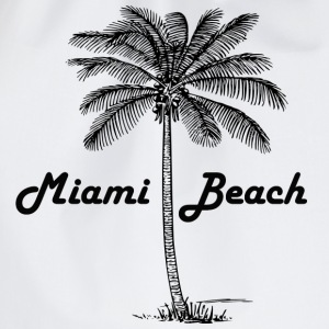 Miami Beach - Drawstring Bag