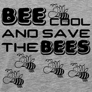 Bee cool & save the Bees - Männer Premium T-Shirt