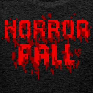 Horror Fall Theme T-Shirt With Game - Men's Premium Tank Top