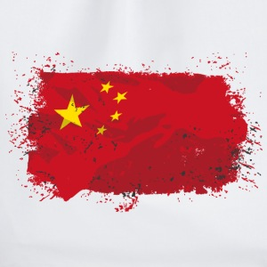 China Flag  Tops - Turnbeutel
