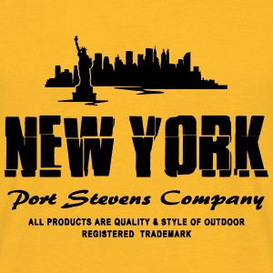 New York Skyline Tops - Männer T-Shirt
