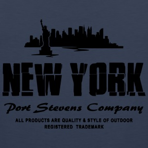 New York Skyline T-Shirts - Männer Premium Tank Top