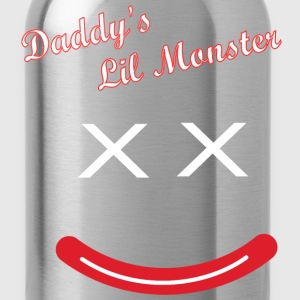 Daddy's Lil Monster  T-Shirts - Trinkflasche