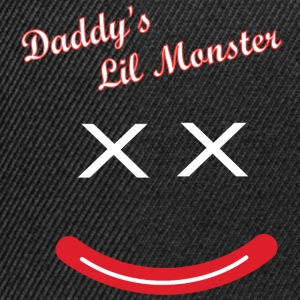 Daddy's Lil Monster  T-Shirts - Snapback Cap