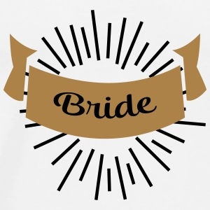 bride Mugs & Drinkware - Men's Premium T-Shirt