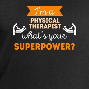 Physical Therapist Superpower Professions T Shirt Sports wear - Men's Sweatshirt by Stanley & Stella