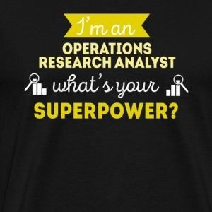 Operations Research Analyst Superpower T-shirt Sports wear - Men's Premium T-Shirt