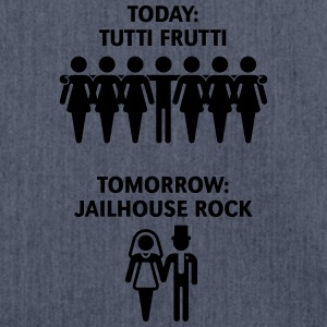 Today: Tutti Frutti – Tomorrow: Jailhouse Rock T-Shirts - Shoulder Bag made from recycled material