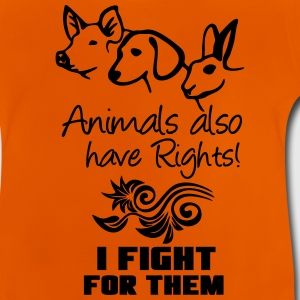 Animals have Rights Shirts - Baby T-Shirt
