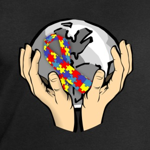 Autism Awareness World Langarmshirts - Männer Sweatshirt von Stanley & Stella