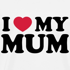 I love my Mom Baby Bodys - Männer Premium T-Shirt