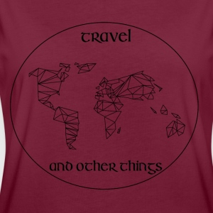 Travel and other Things - Frauen Oversize T-Shirt