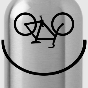 Bicycle Smiley - Trinkflasche