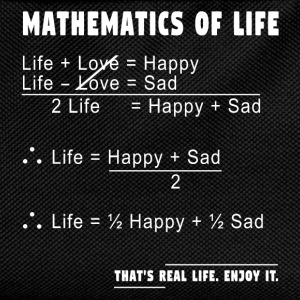 Mathematics of Life T-Shirts - Kinder Rucksack