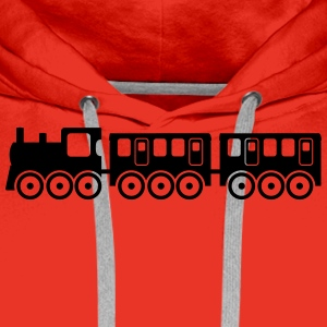 train Shirts - Men's Premium Hoodie