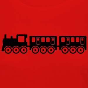 train Shirts - Women's Premium Longsleeve Shirt