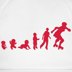 evolution skating derby baby foetus T-Shirts - Baseballkappe