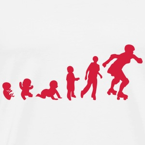 evolution skating derby baby foetus Tops - Männer Premium T-Shirt