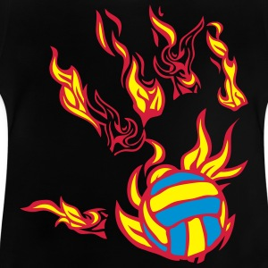 flamme hand volleyball T-Shirts - Baby T-Shirt