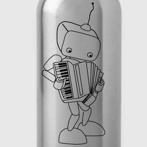 Roboter - Trinkflasche