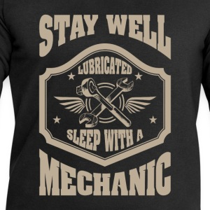 Stay well lubricated sleep with a mechanic - Men's Sweatshirt by Stanley & Stella