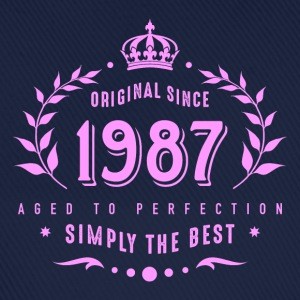 original since 1987 simply the best 30th birthday T-Shirts - Baseballkappe