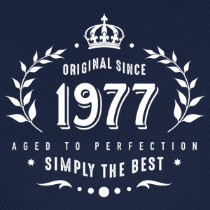 original since 1977 simply the best 40th birthday T-Shirts - Baseballkappe